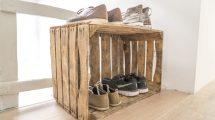 Schuhschrank im Treppenhaus erlaubt?