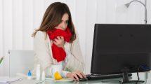 Arbeiten trotz Krankschreibung