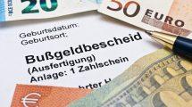 Rechtsmittel gegen einen Bußgeldbescheid