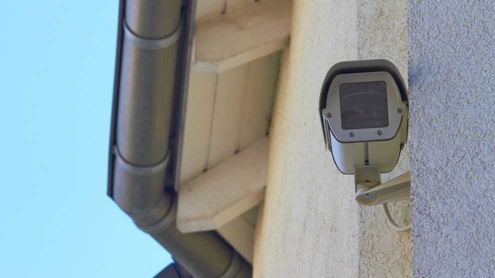 Videoüberwachung eines Grundstücks