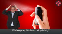Pfefferspray Waffenschein