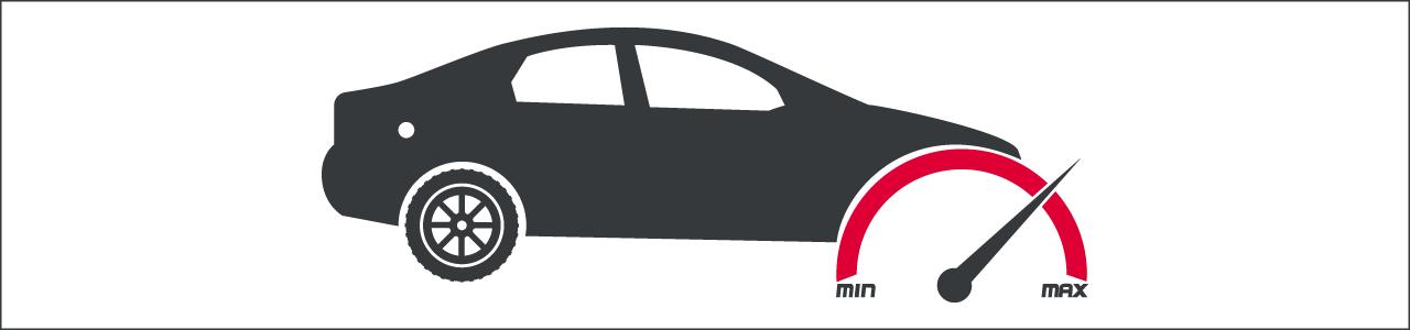 Banner Geschwindigkeitsüberschreitung