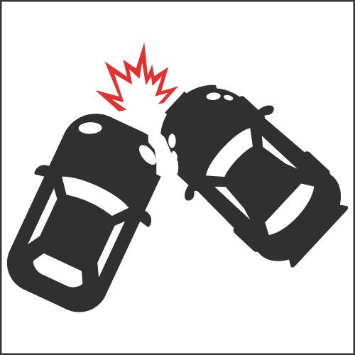 Rechtsberatung Unfall Icon